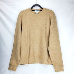 Barney's New York 100% Cotton Tan Pullover Medium